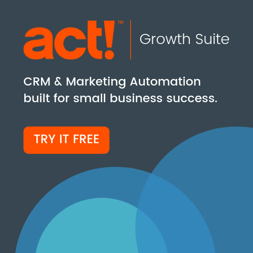 Get a free trial of Act! Growth Suite