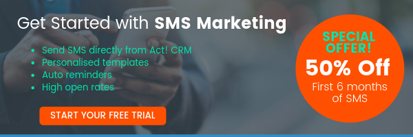 SMS Promo Email Banner